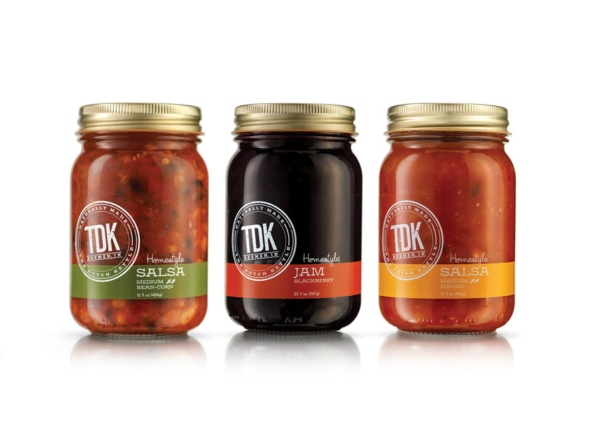 The Dutch Kettle Jams and Salsas by Berlin Packaging - Studio One Eleven