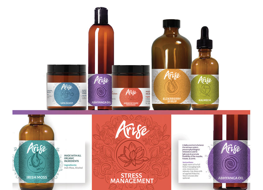 Wellness Packaging Series by Quill Creative LLC