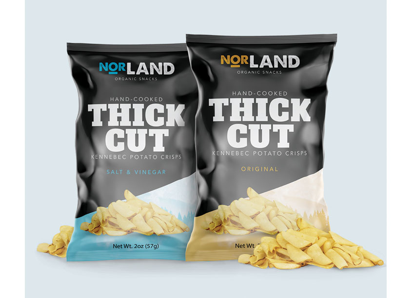 Norland Organic Snacks Chips by Pennsylvania College of Art & Design
