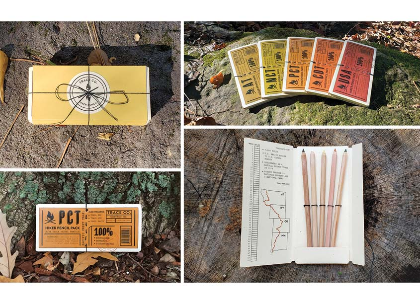 TRACE CO. Hiker Pencils by Auburn University School of Industrial + Graphic Design