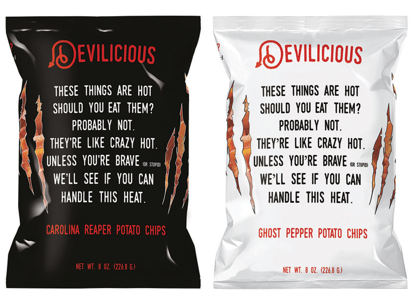 Devilicious Snacks Chips by Pennsylvania College of Art & Design