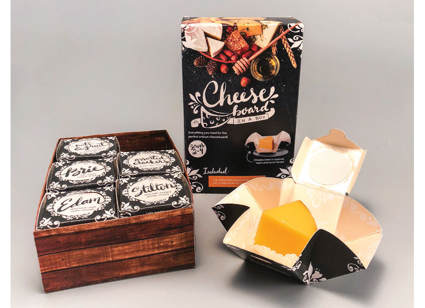Artisan Cheese Mini Cheese Boards In A Cube by Kennesaw State University School of Art & Design