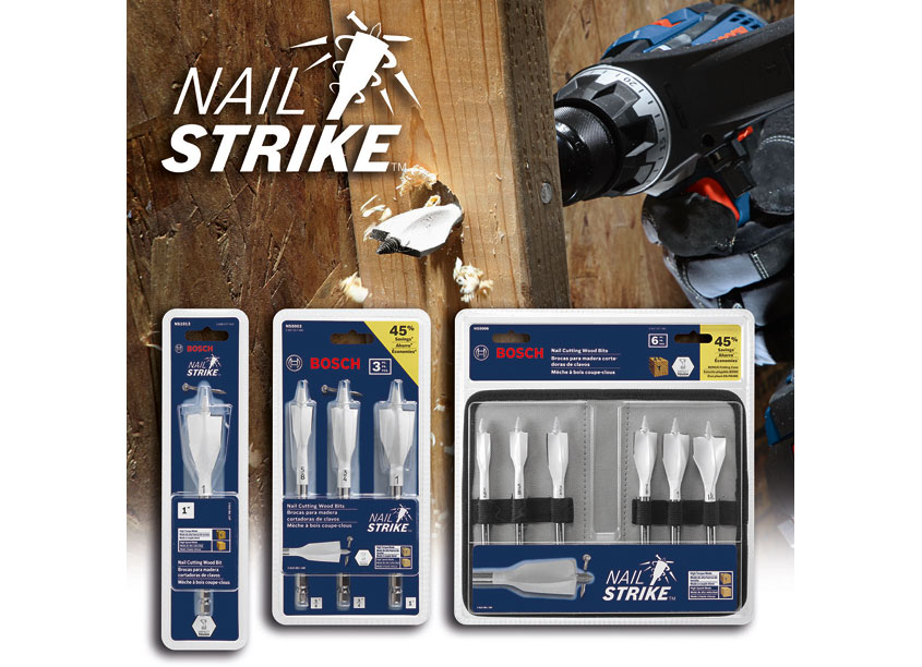 Nail Strike Wood Drilling Bit by Robert Bosch Tool Corporation