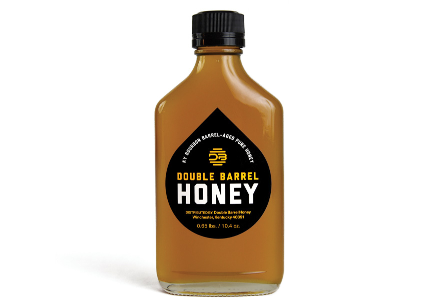Double Barrel Honey Packaging by BORN