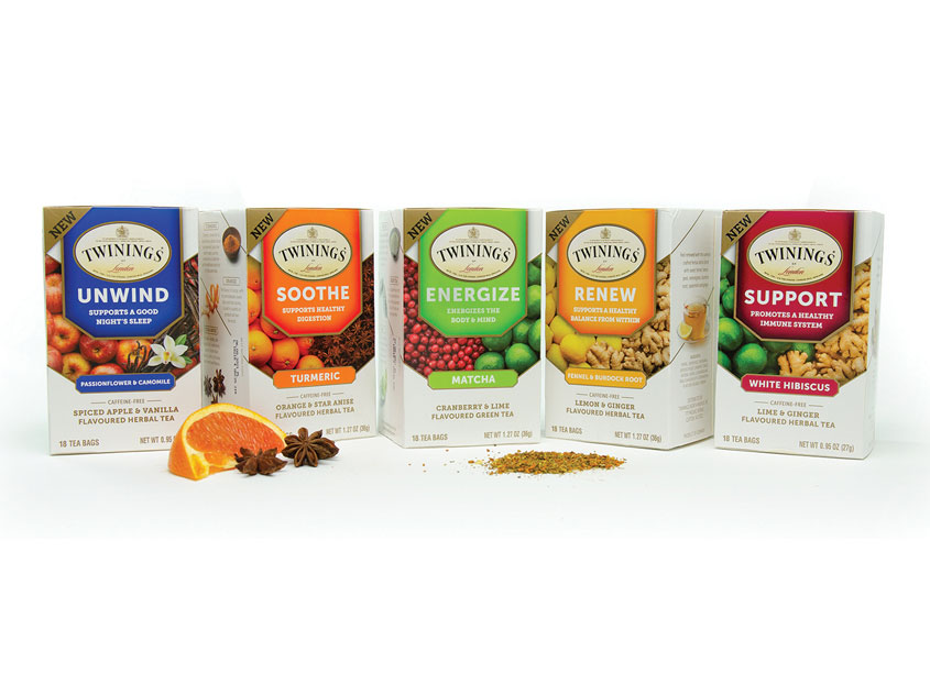 Twinings Wellness Line by Bailey Brand Consulting