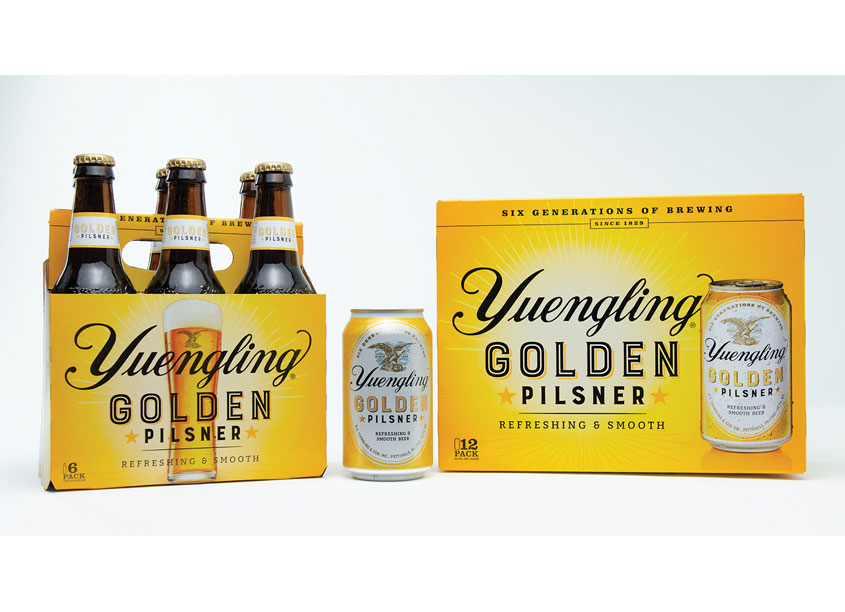 Yuengling Golden Pilsner by Bailey Brand Consulting
