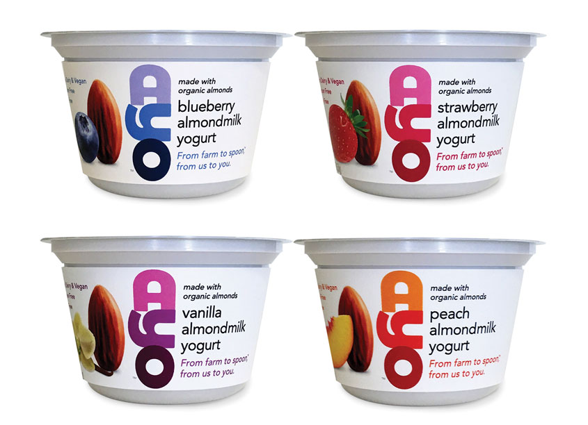 Gauger + Associates AYO Yogurt Cups Package Design