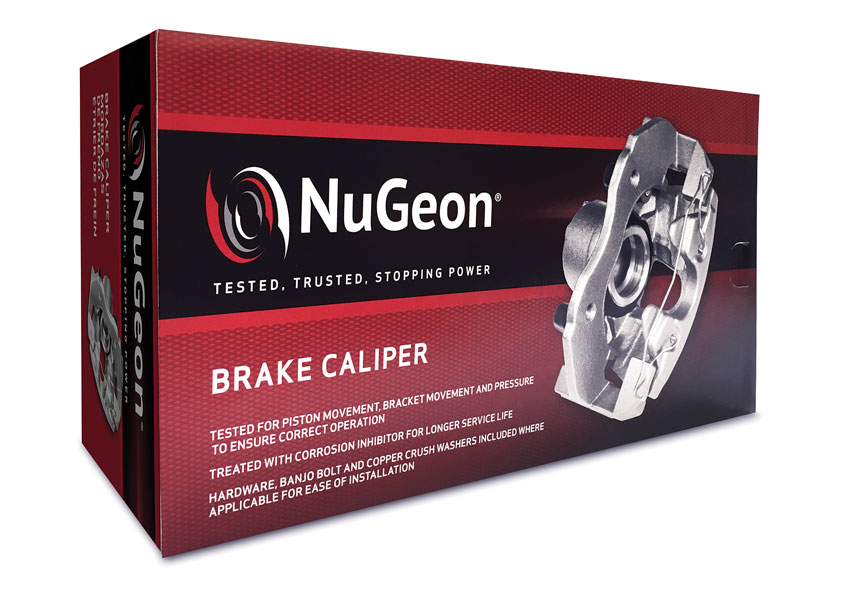 TFI Envision, Inc. NuGeon® Uncoated Brake Caliper Packaging