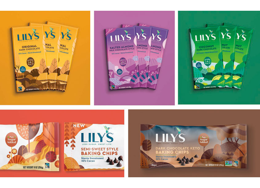 Lily's Sweets Packaging by BexBrands