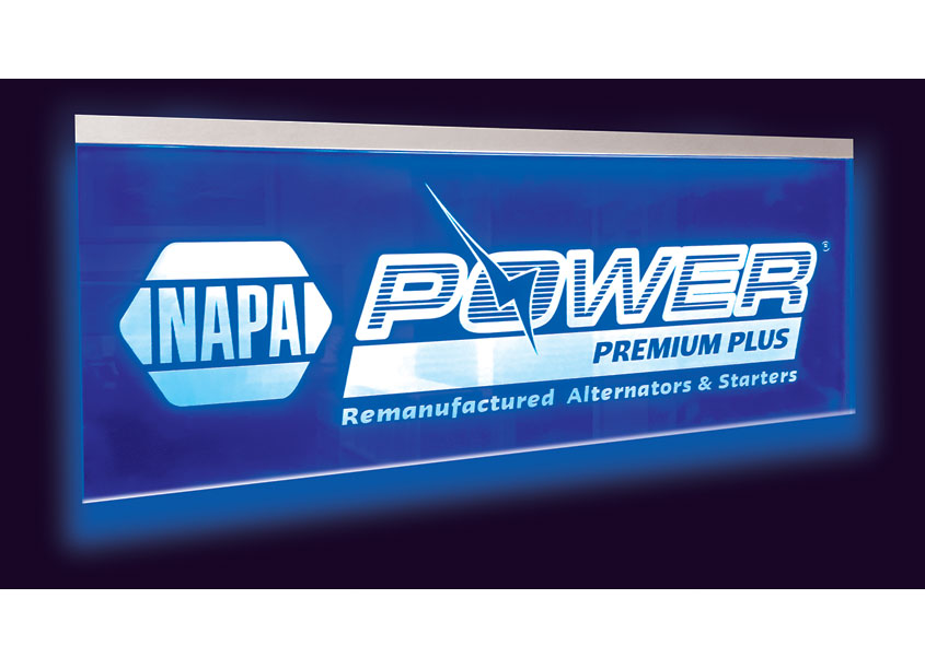 TFI Envision, Inc. NAPA® Power Premium Plus Edge Lit Sign