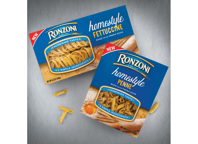 Ronzoni Homestyle Pasta Packaging by WFM