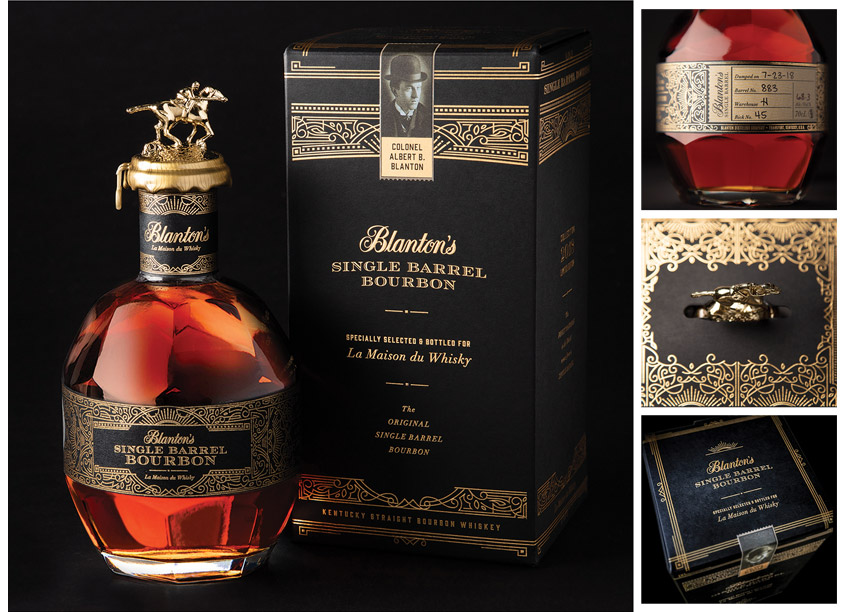 COHO Creative Blanton's Bourbon 2018 Limited Edition Packaging