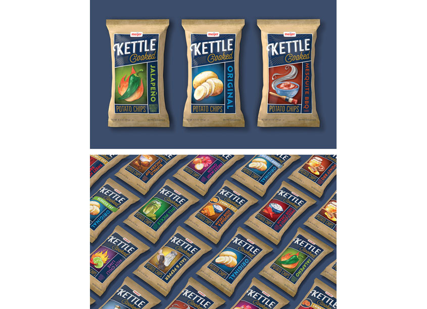 Kettle Chips Packaging by COHO Creative