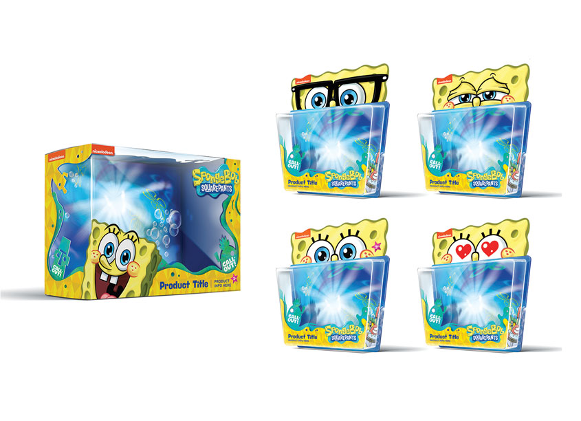 Nickelodeon SpongeBob Packaging