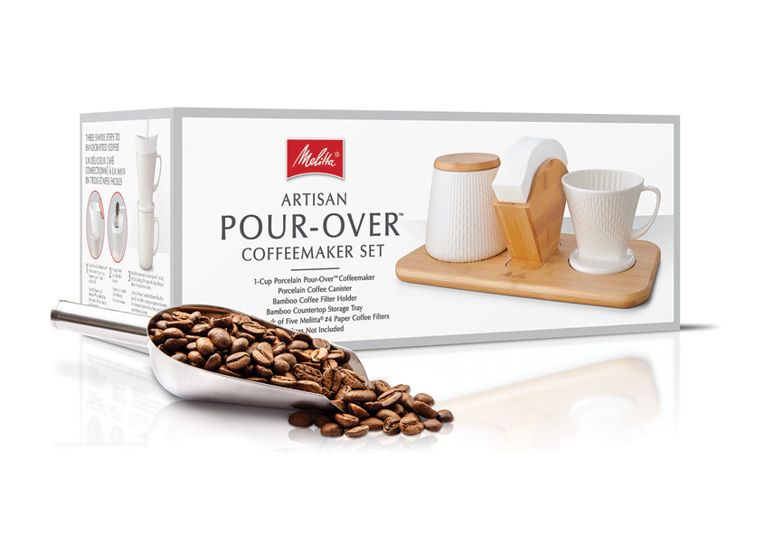Melitta Artisan Pour-Over Set by Hughes BrandMix