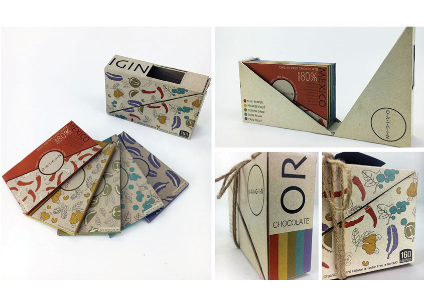 Origin Chocolate by Auburn University School of Industrial + Graphic Design
