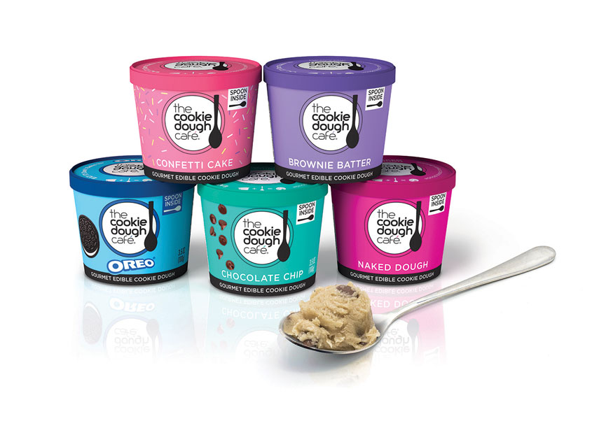 The Cookie Dough Café Package Design by Hughes BrandMix