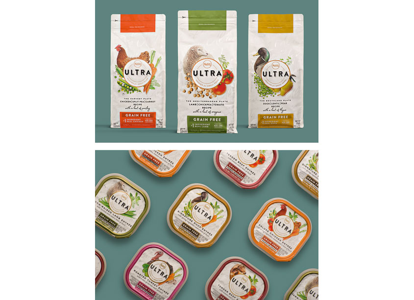 Ultra Specialty Pet Food Package Design by clarkmcdowall