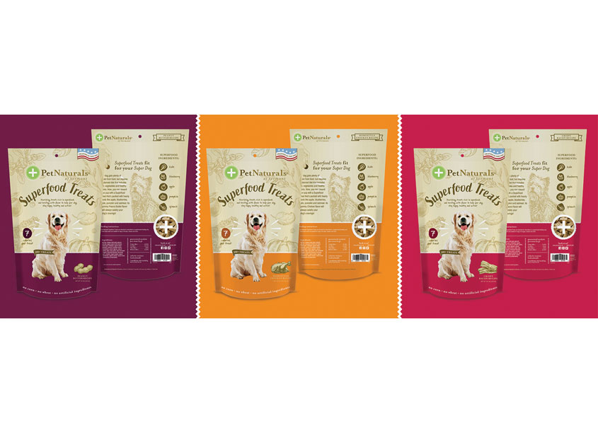 FoodScience Corporation Superfood Treats Packaging