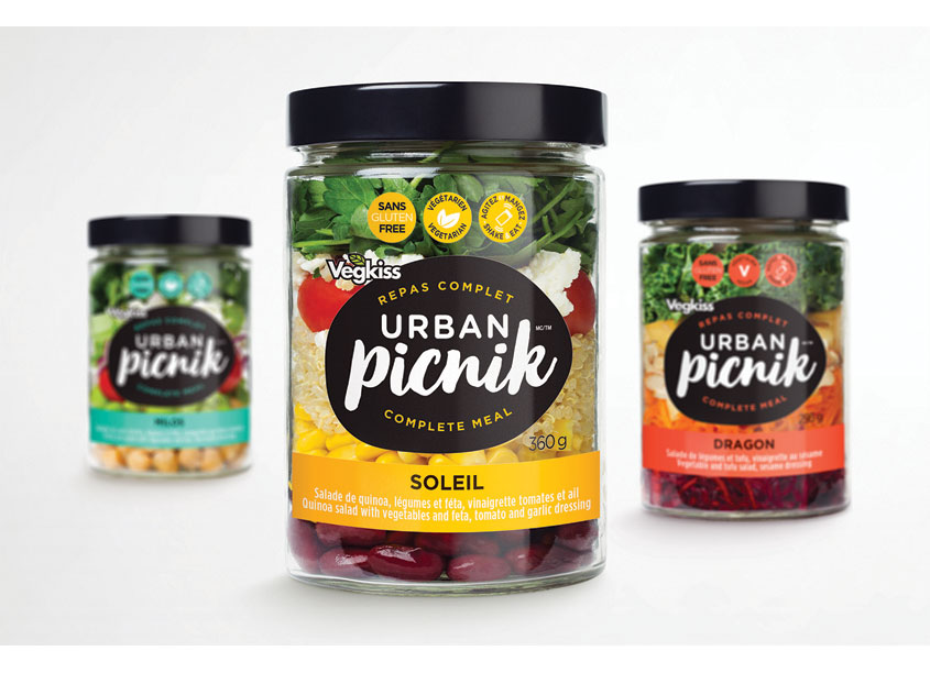 Urban Piknik Salad In A Jar by Pigeon Brands Inc.