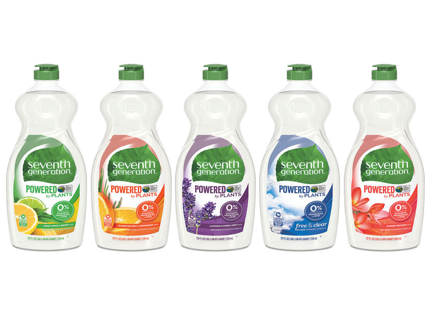 Hand Dish Liquid Redesign by Seventh Generation