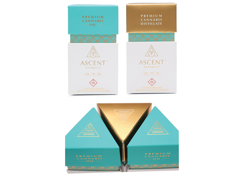 Ellen Bruss Design Ascent Extracts Package Design