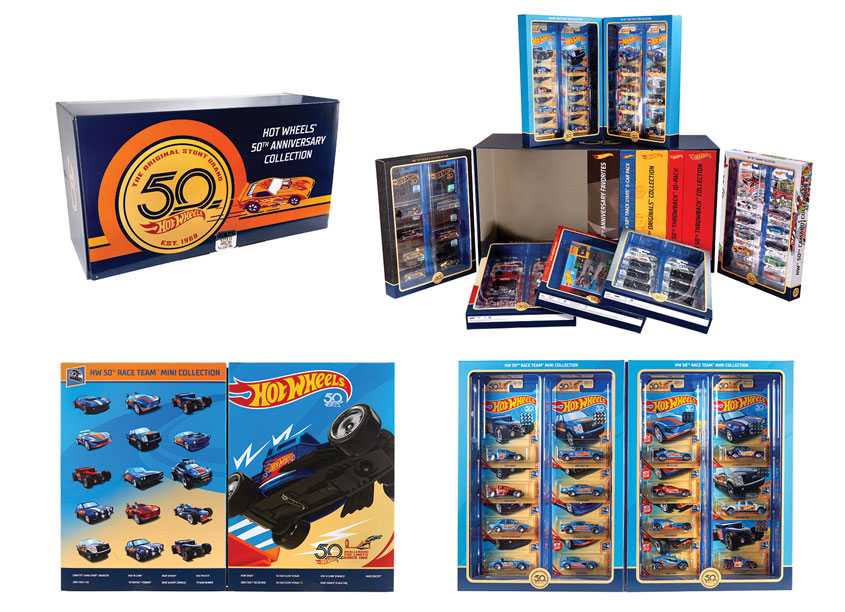 Mattel/Hot Wheels Hot Wheels® 50th Anniversary Box Set