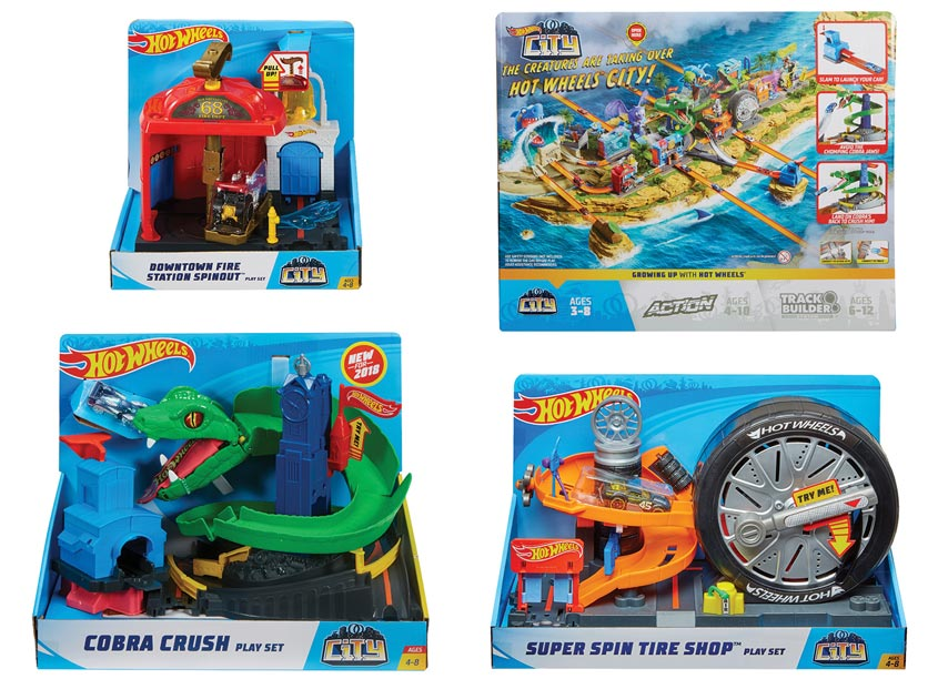 Mattel/Hot Wheels Hot Wheels® CITY Play Set Series