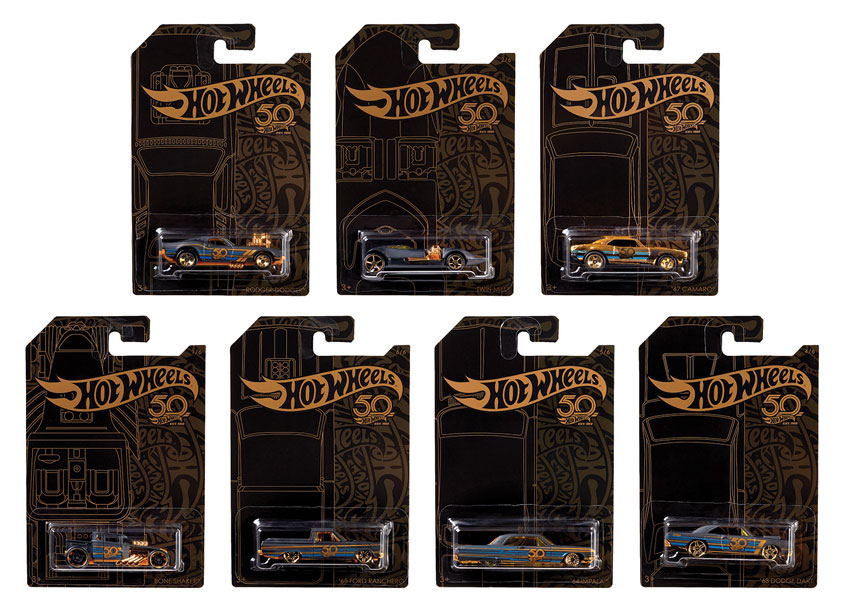 Mattel/Hot Wheels Hot Wheels® Black & Gold Assortment