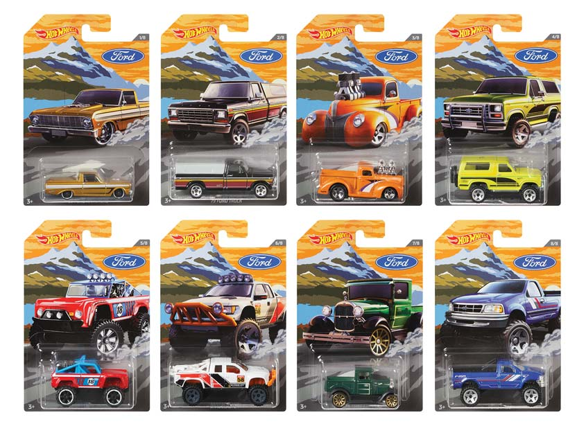 Mattel/Hot Wheels Hot Wheels® Ford Trucks Assortment