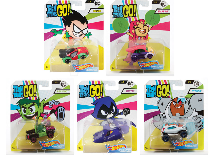 Mattel/Hot Wheels Hot Wheels® Teen Titans Character Cars Assortment