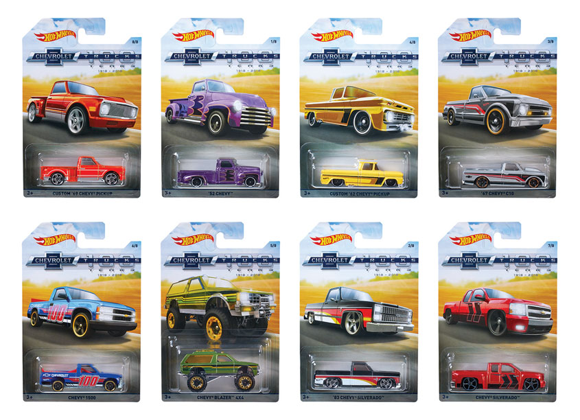 Mattel/Hot Wheels Hot Wheels® Chevy Trucks 100th Anniversary Assortment