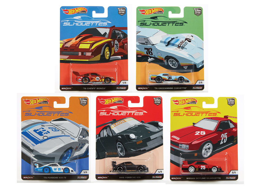 Mattel/Hot Wheels Hot Wheels® Car Culture 2019 Silhouette Series