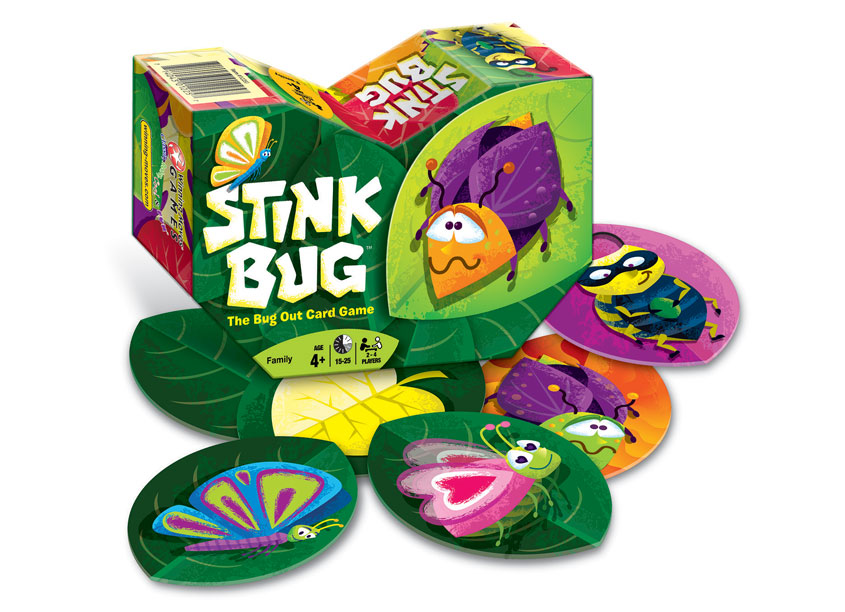 Preslicka Studio, Inc. Stink Bug Package Design