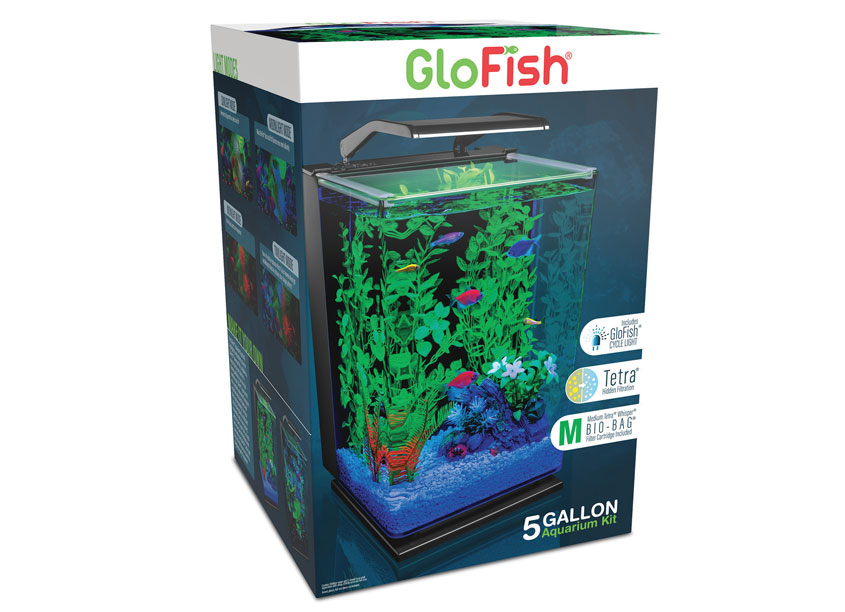 Spectrum Brands - Pet, Home & Garden Division GloFish® Aquarium Kit