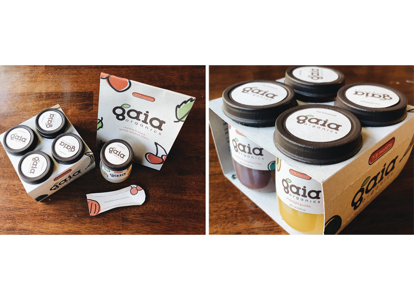 Gaia Organics Baby Food by Auburn University School of Industrial + Graphic Design
