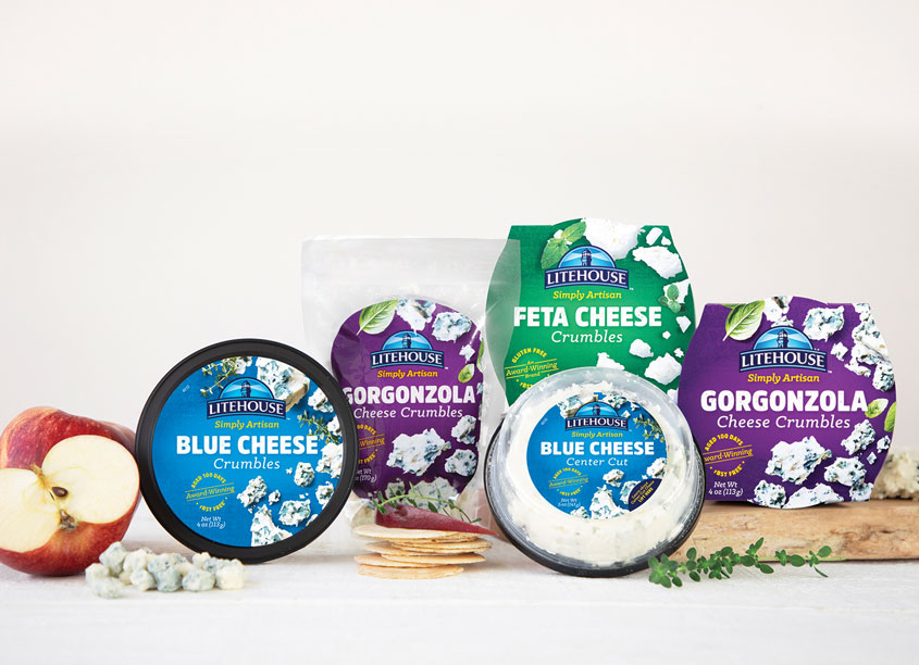 Litehouse Cheese Packaging Refresh by Litehouse Inc.