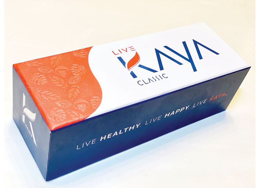 Live Kaya CBD Chocolate Packaging by Design on Edge