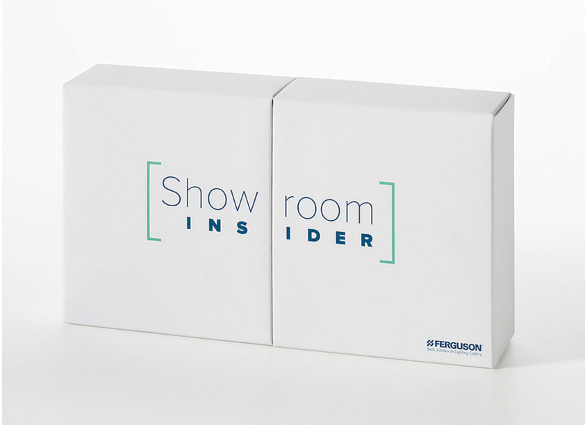 Showroom Insider Promotional Box by Oliver Printing and Packaging