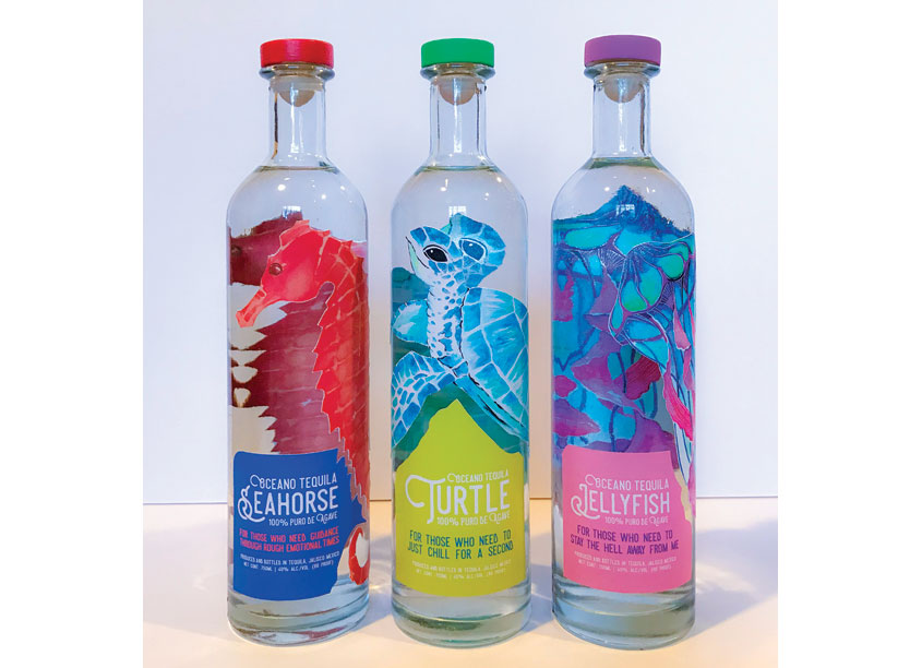 Tequila Bottle Packaging by Woodbury University