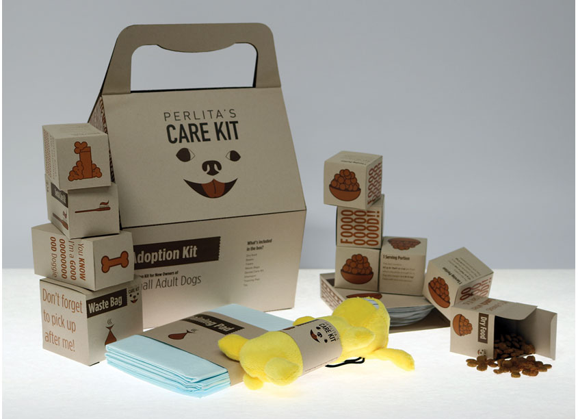 Perlita's Care Kit Dog Adoption Kit by Woodbury University