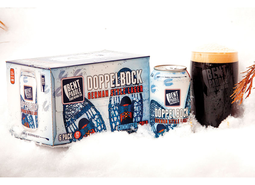 Bent Paddle Brewing Company Doppelbock Box & Can