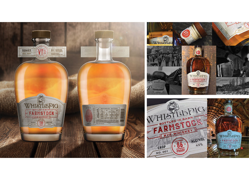 Whistle Pig Rye Whiskey by SmashBrand