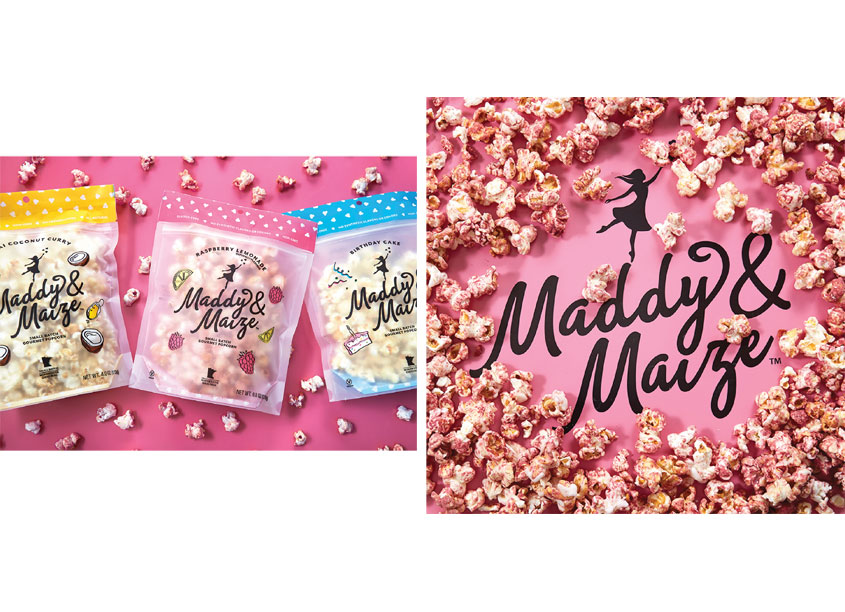Maddy & Maize Small Batch Gourmet Popcorn by CBX