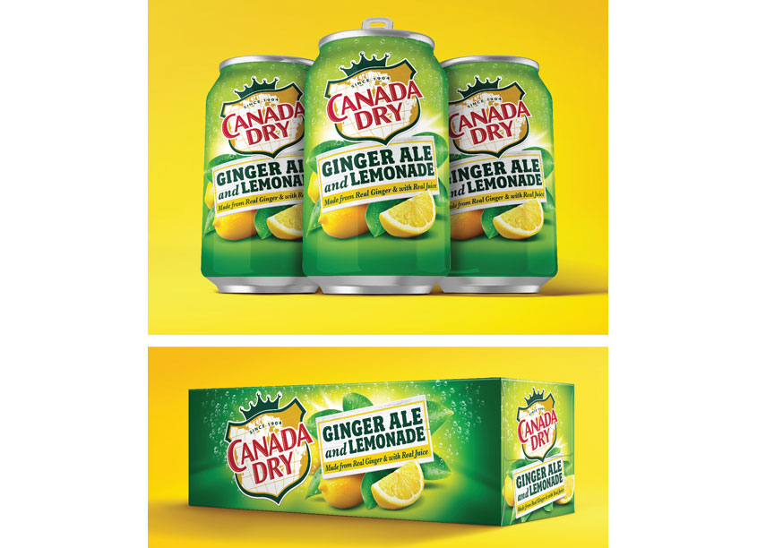 Canada Dry Ginger Ale and Lemonade by CBX