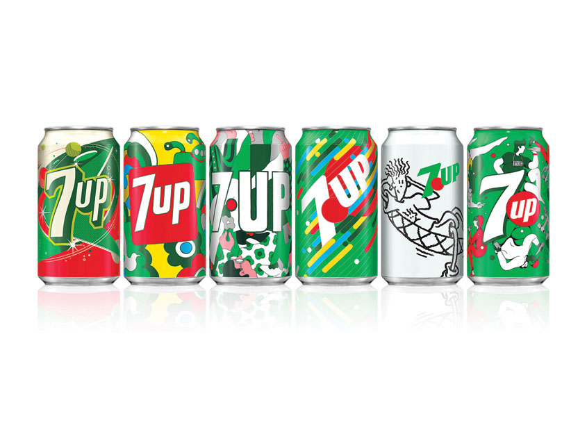 7UP Vintage Pack 2018 by PepsiCo Design & Innovation