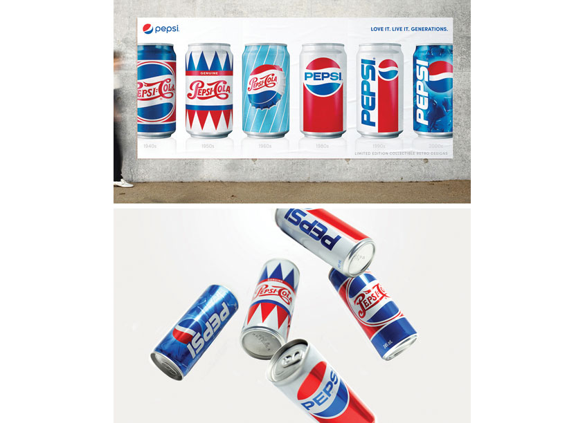 Pepsi Generations by PepsiCo Design & Innovation