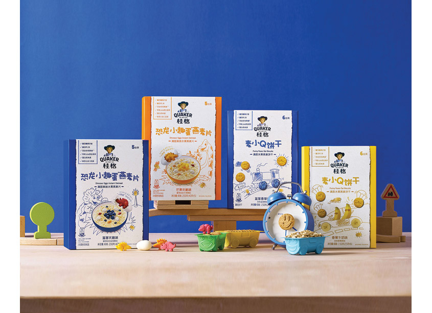 Quaker Kids China by PepsiCo Design & Innovation