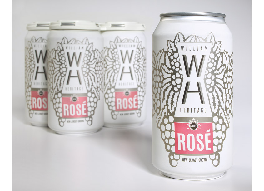BMB Branding and Design, LLC WH Dry Rosé Package Design