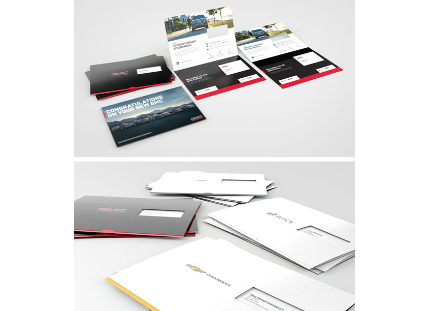 New Customer F+I Envelopes by GM Financial